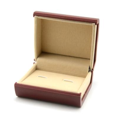 Krabička na manžetové knoflíčky červená