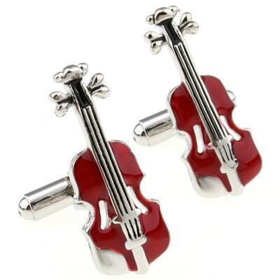 Manžetové knoflíčky housle
