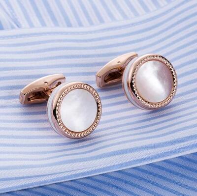 Manžetové knoflíčky perleť