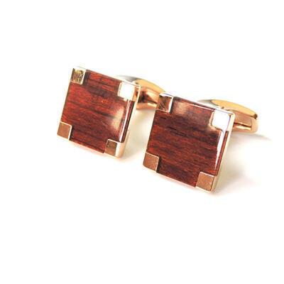 Manžetové knoflíčky wood 0691