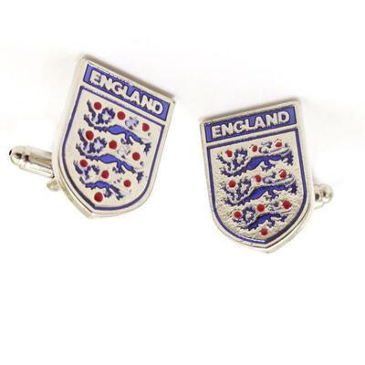 Manžetové knoflíčky fotbalový znak Anglie