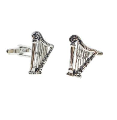 Manžetové knoflíčky harfa