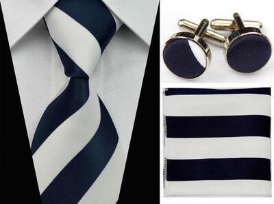 Manžetové knoflíčky s kravatou - Néreus