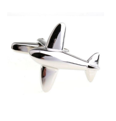 Manžetové knoflíčky letadlo
