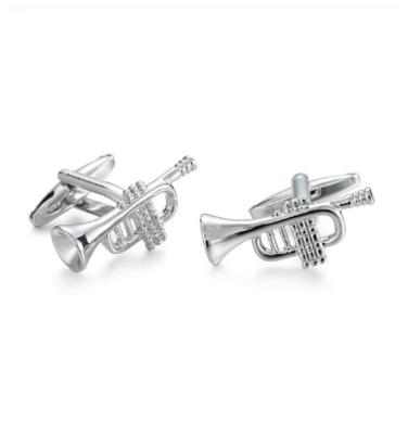 Manžetové knoflíčky jazzové trubky