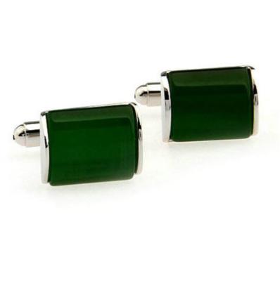 Manžetové knoflíčky Elegantní emerald